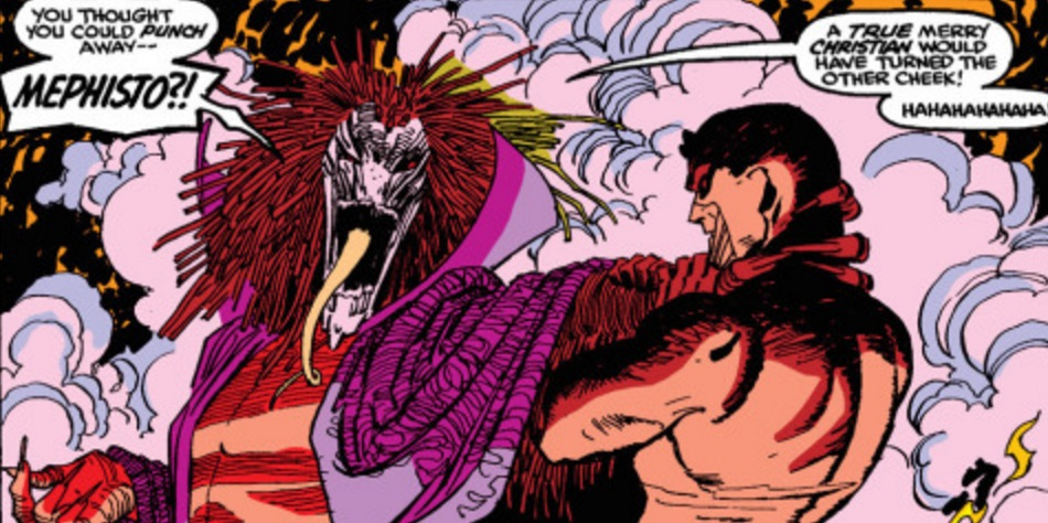 Mephisto Rumored To Be Defenders Villain