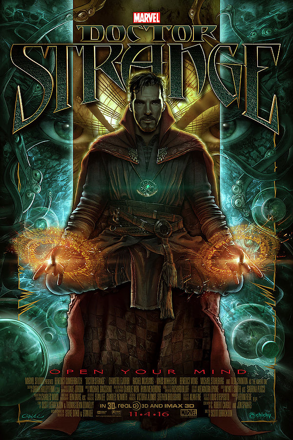 Awesome Doctor Strange Fan Poster
