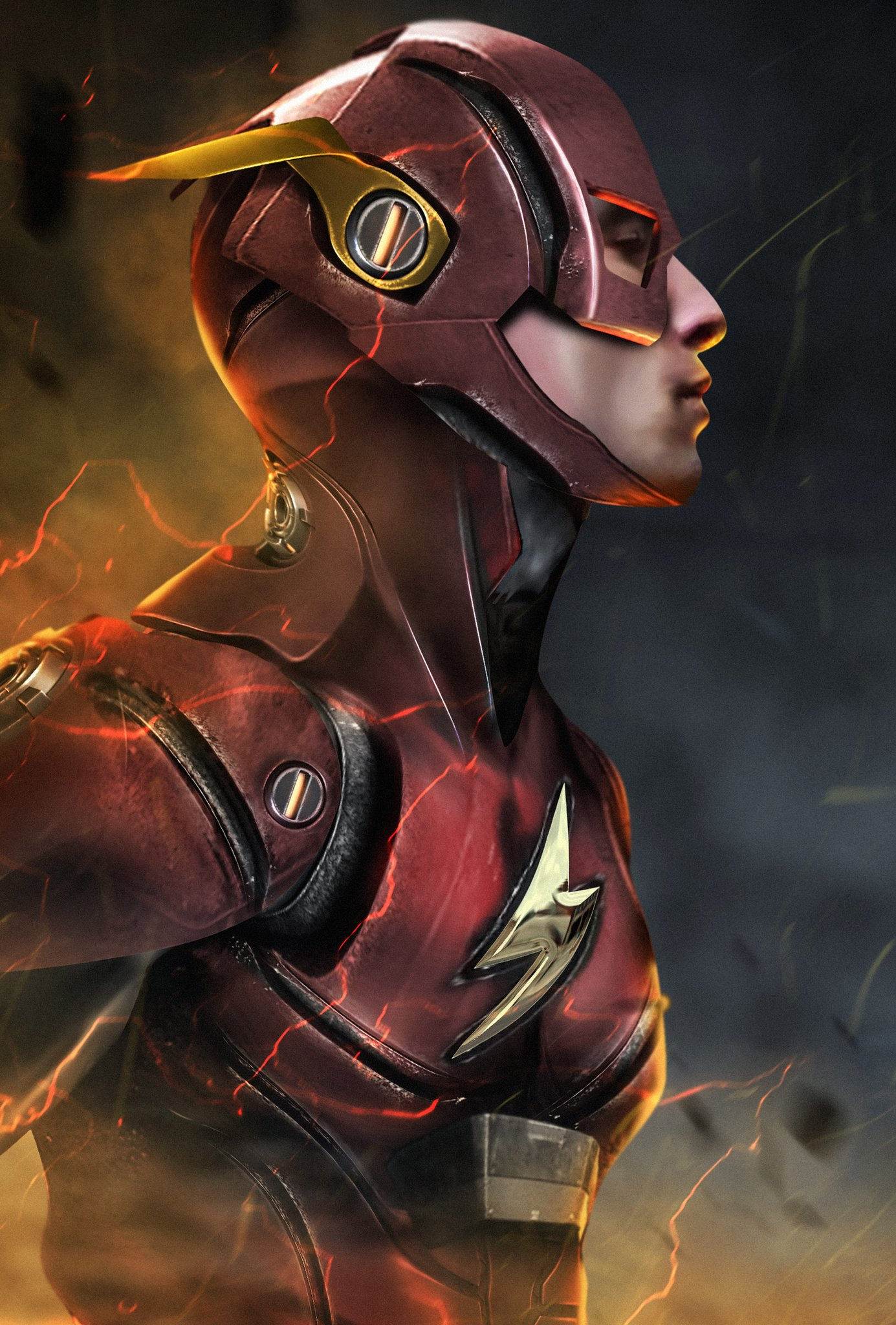 The Flash Justice League Fan Art