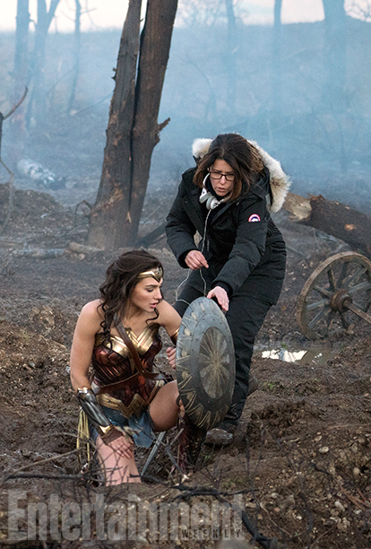 Wonder Woman Pictures And Director Interview