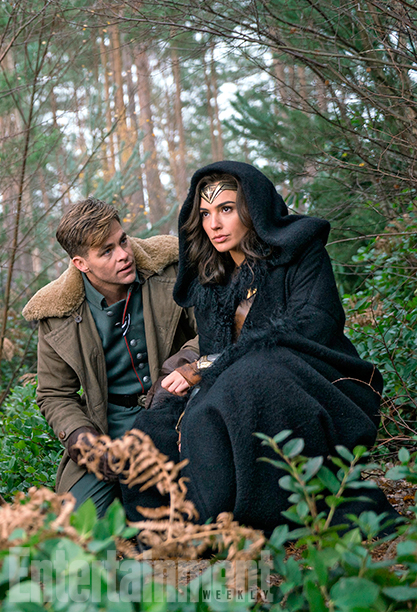 Wonder Woman Pictures And Director Interview 2