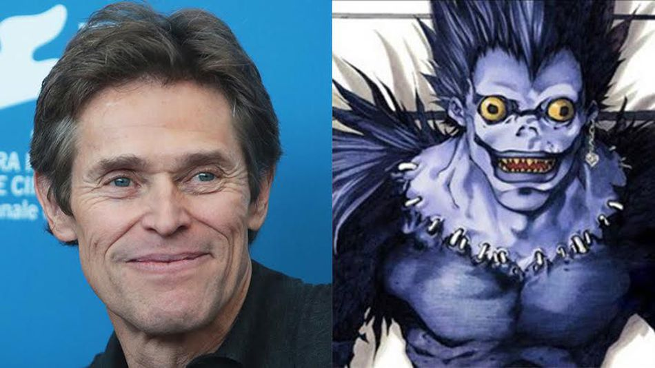 Willem Dafoe is voice of Ryuk from Death Note