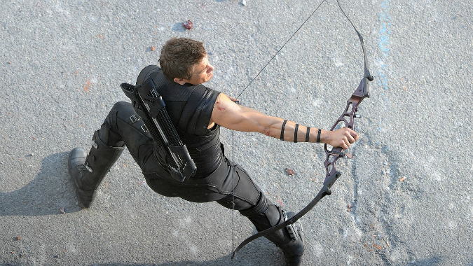 Jeremy Renner Talks Hawkeye