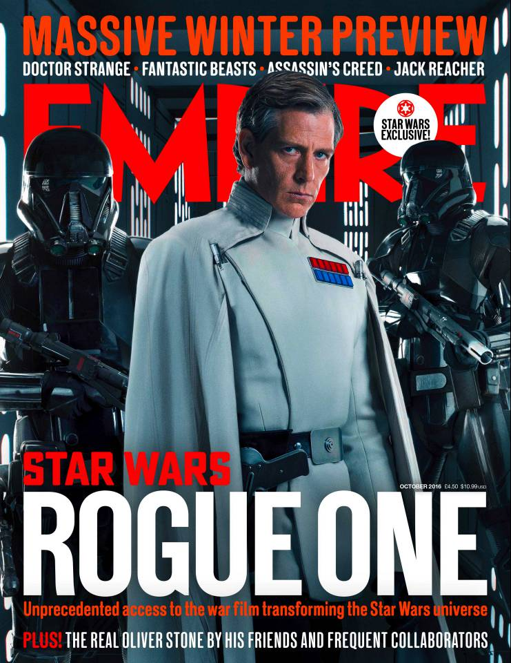 Star Wars Orson Krennic Cover