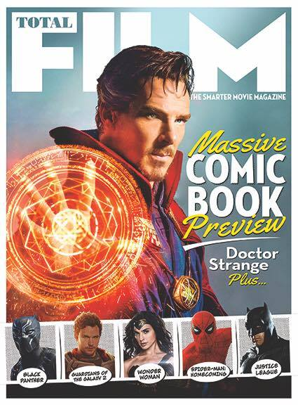 Doctor Strange Total Film Cover