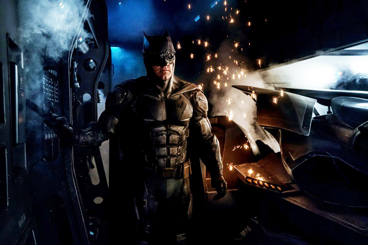 First Look At The Tactical Batsuit For Justice League