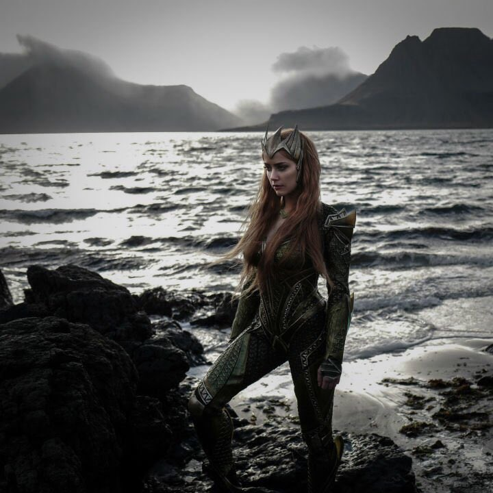 Mera Dives Into Justice League