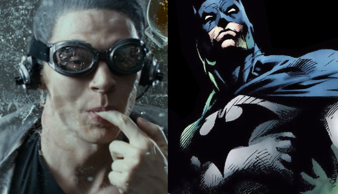Quicksilver wants to be Batman