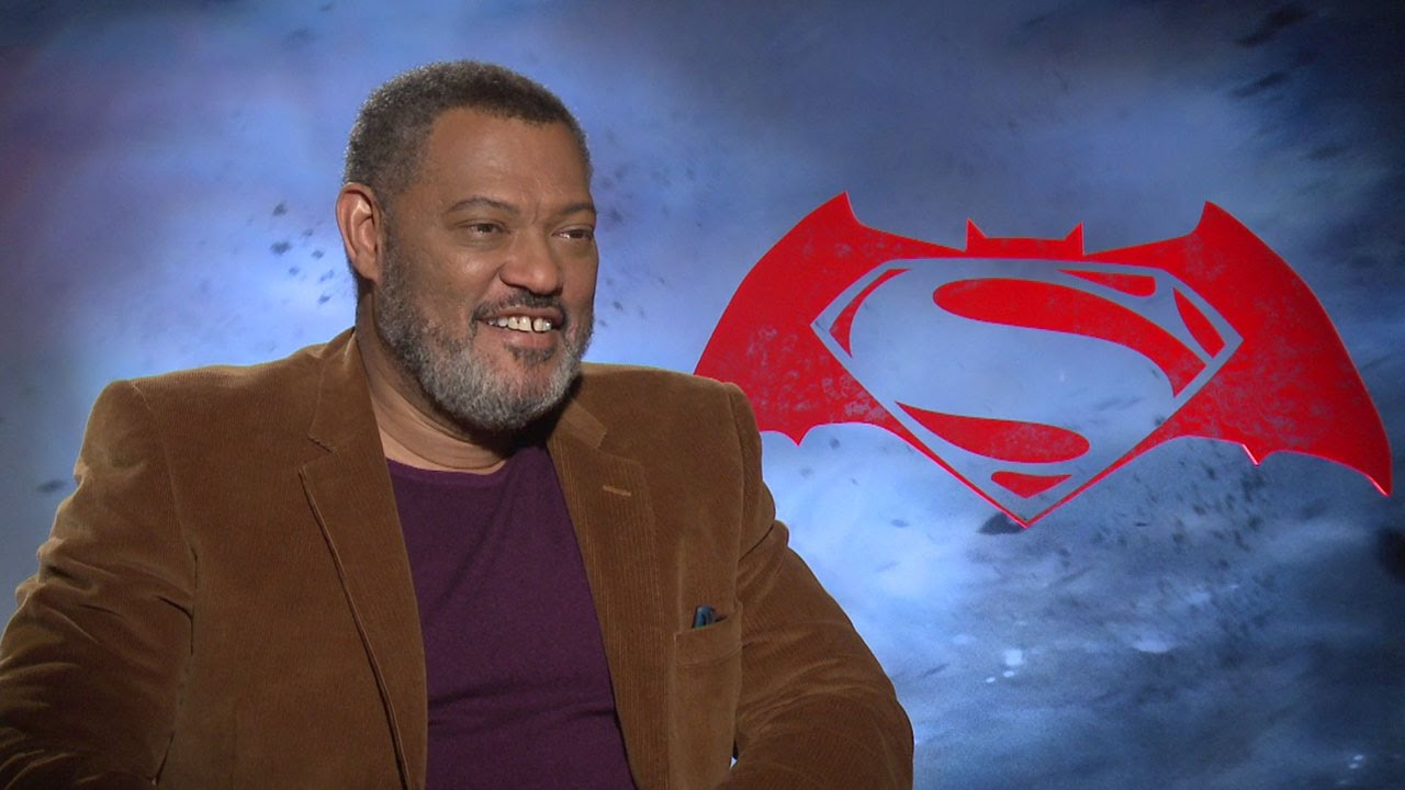 Laurence Fishburn Talks Justice League/BvS Martha Scene