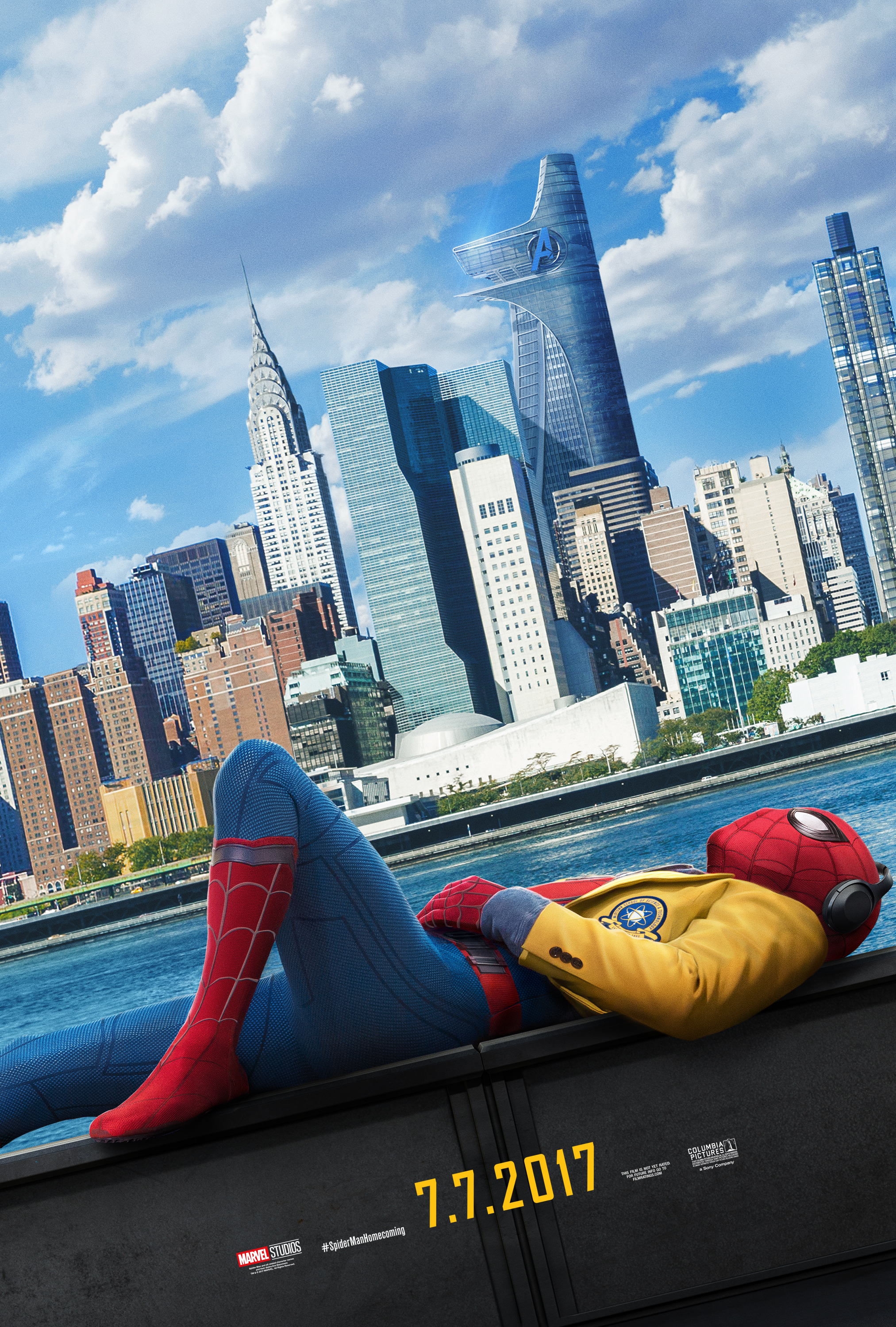 New Spider-Man Homecoming Posters/Interview 1