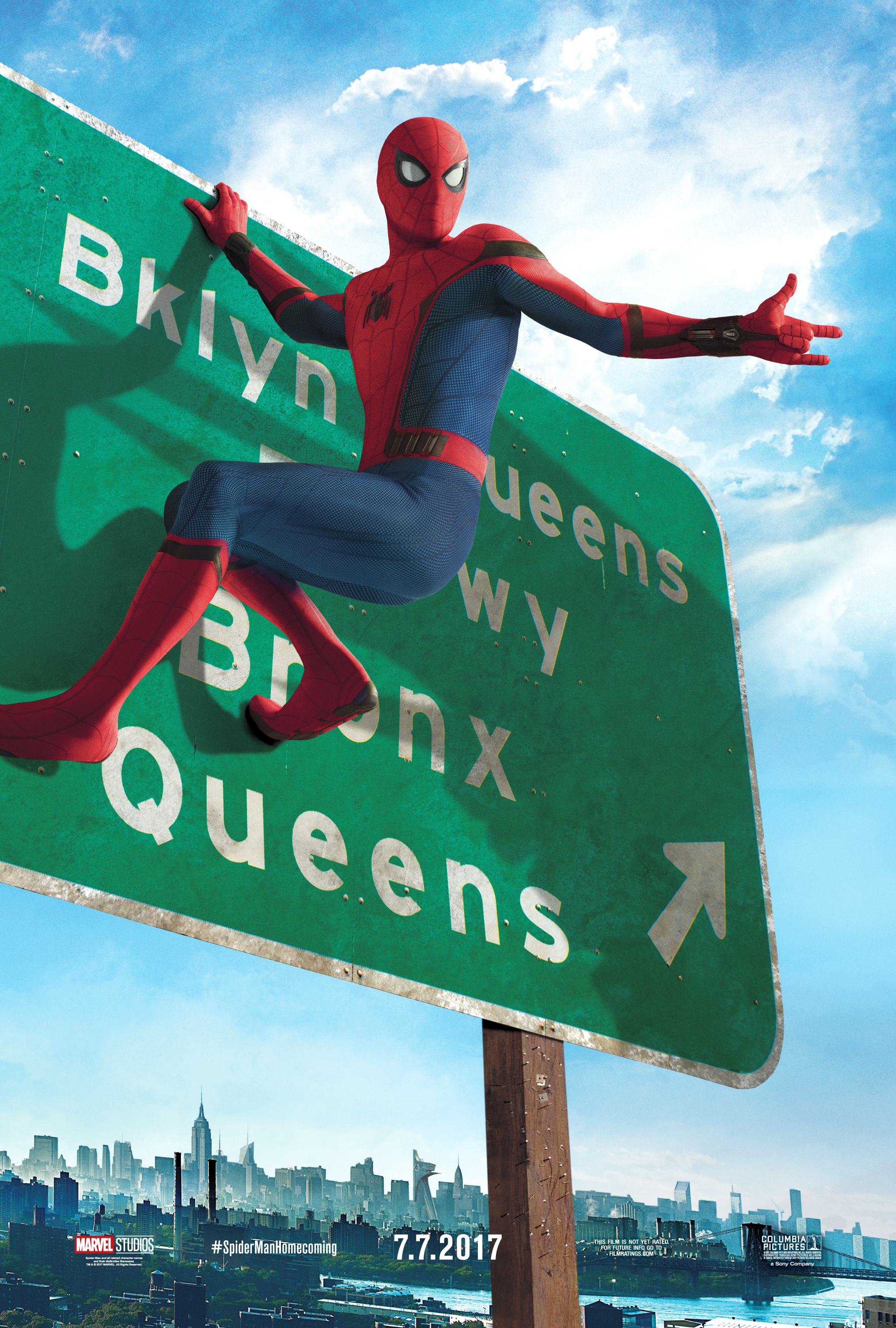 New Spider-Man Homecoming Posters/Interview