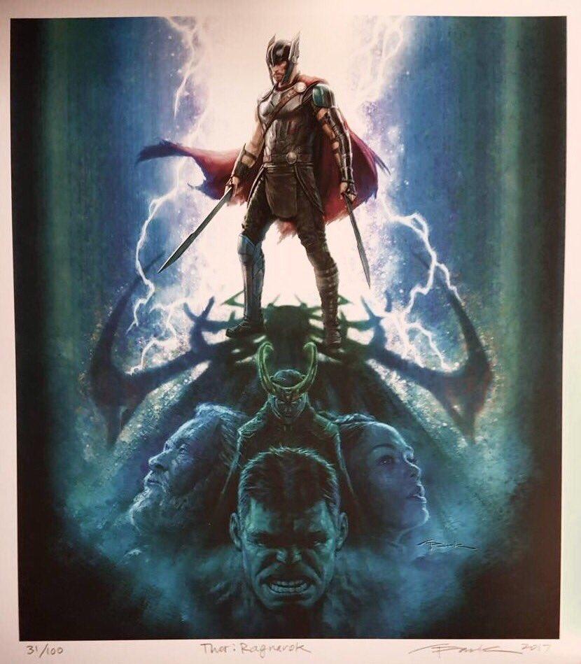 New Thor Ragnarok Poster