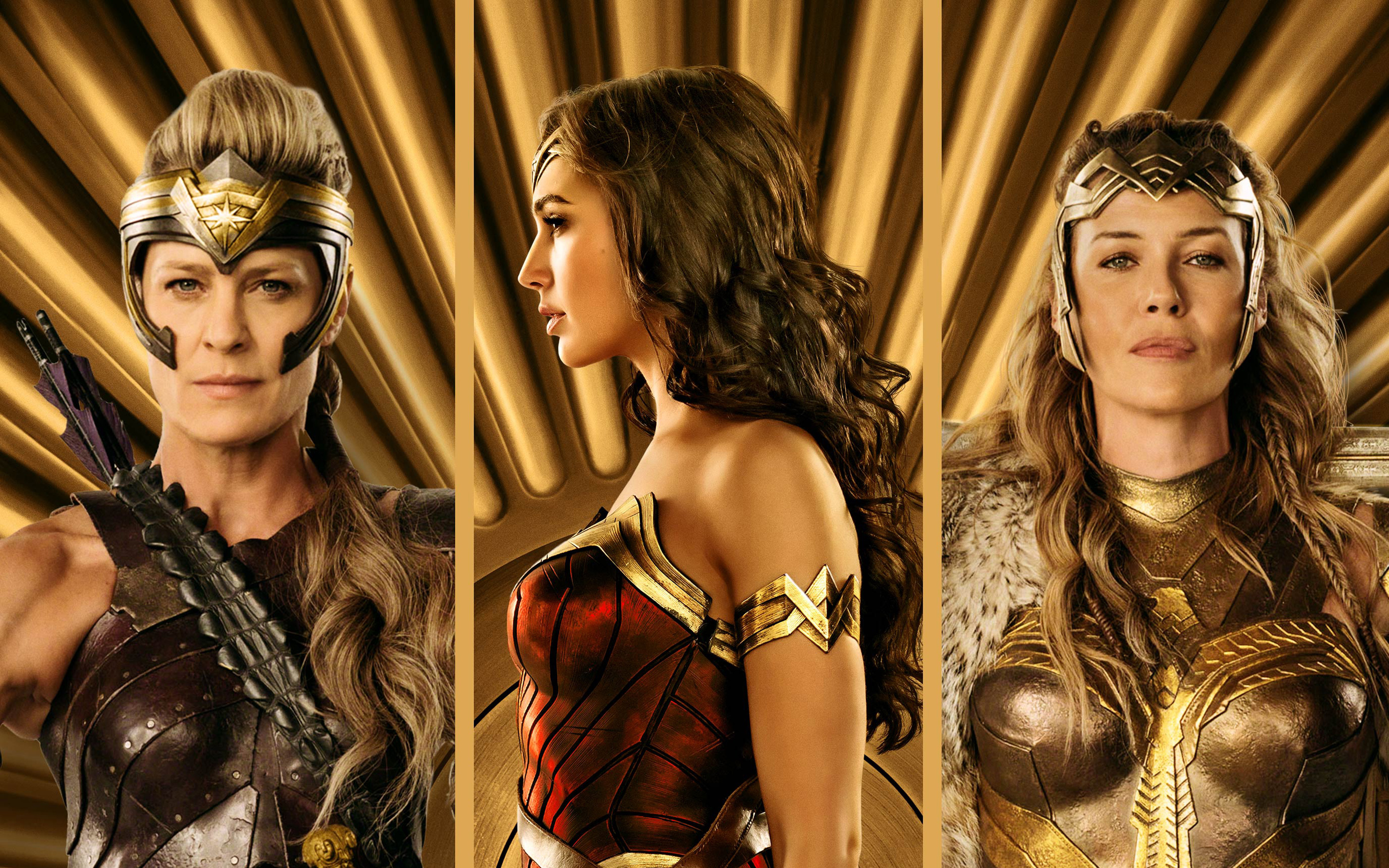 Wonder Woman Amazons Return In Justice League