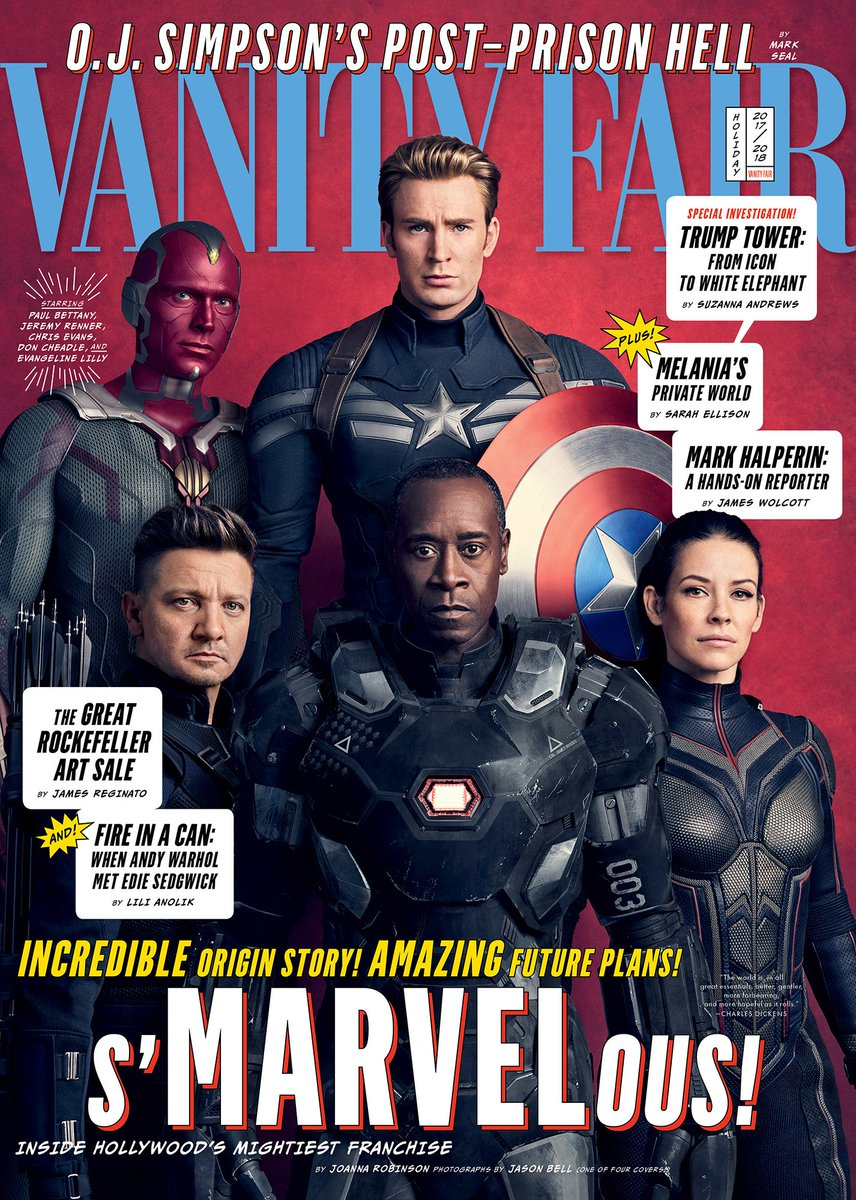 Vanity Fair Avengers Infinity War Covers 2