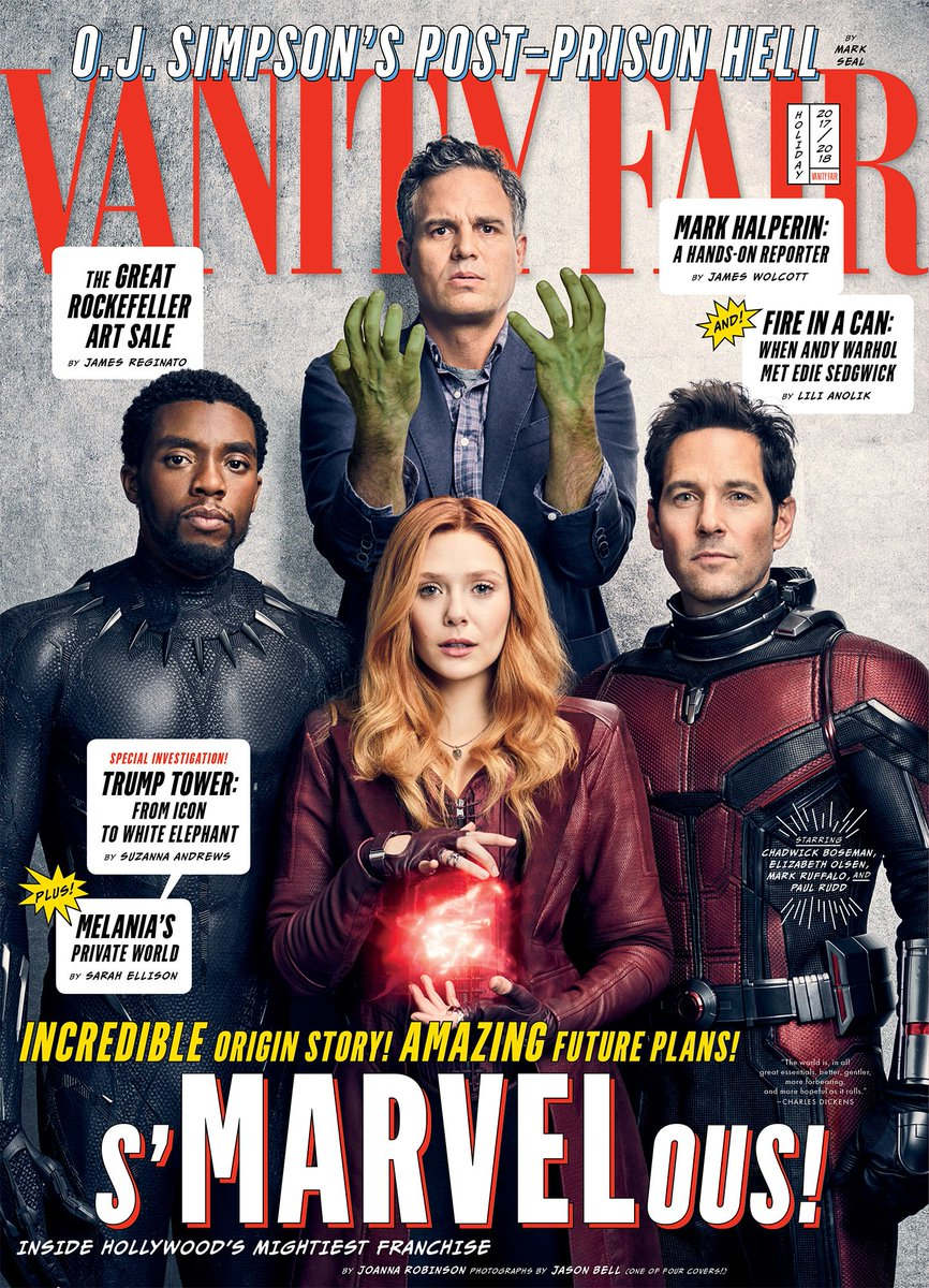 Vanity Fair Avengers Infinity War Covers 3