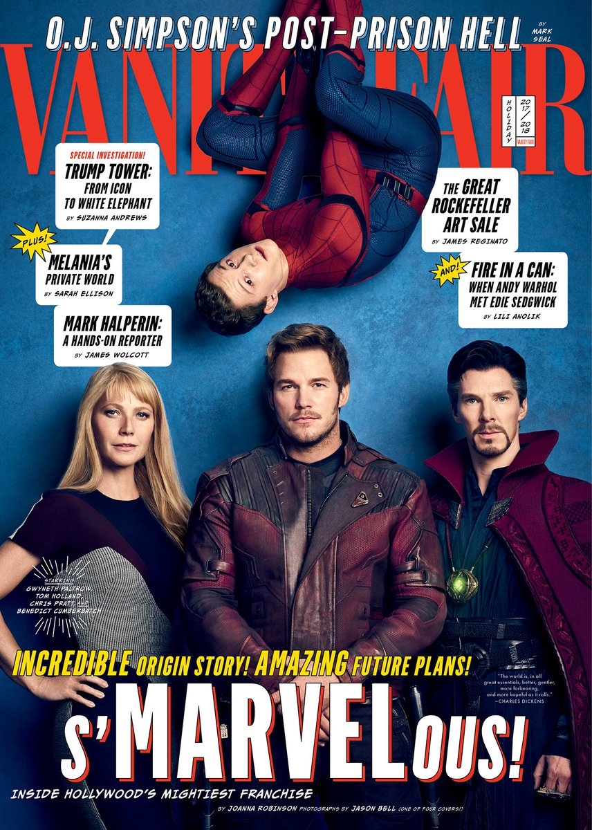 Vanity Fair Avengers Infinity War Covers 4