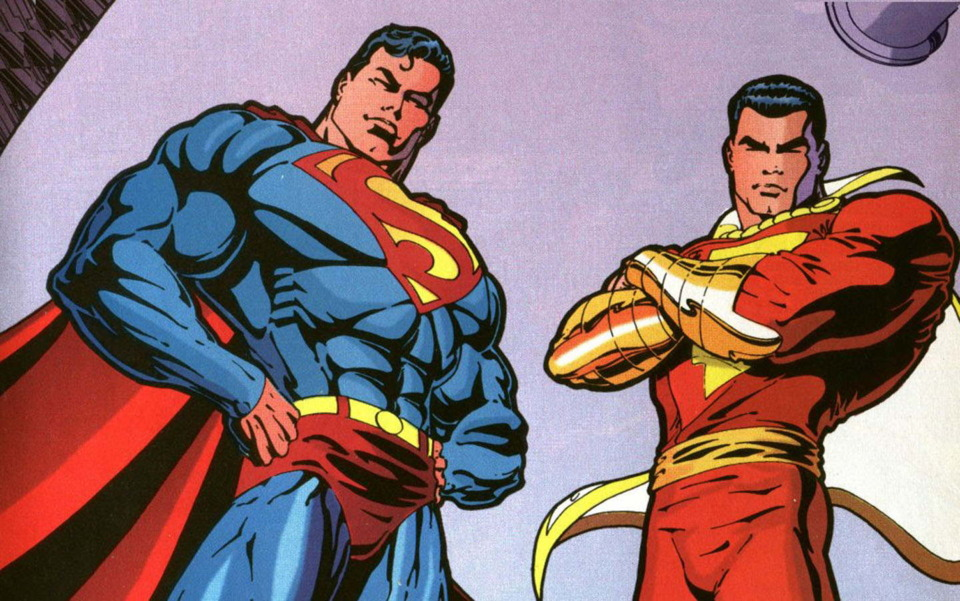 Cavill And Levy Talk Superman vs Shazam