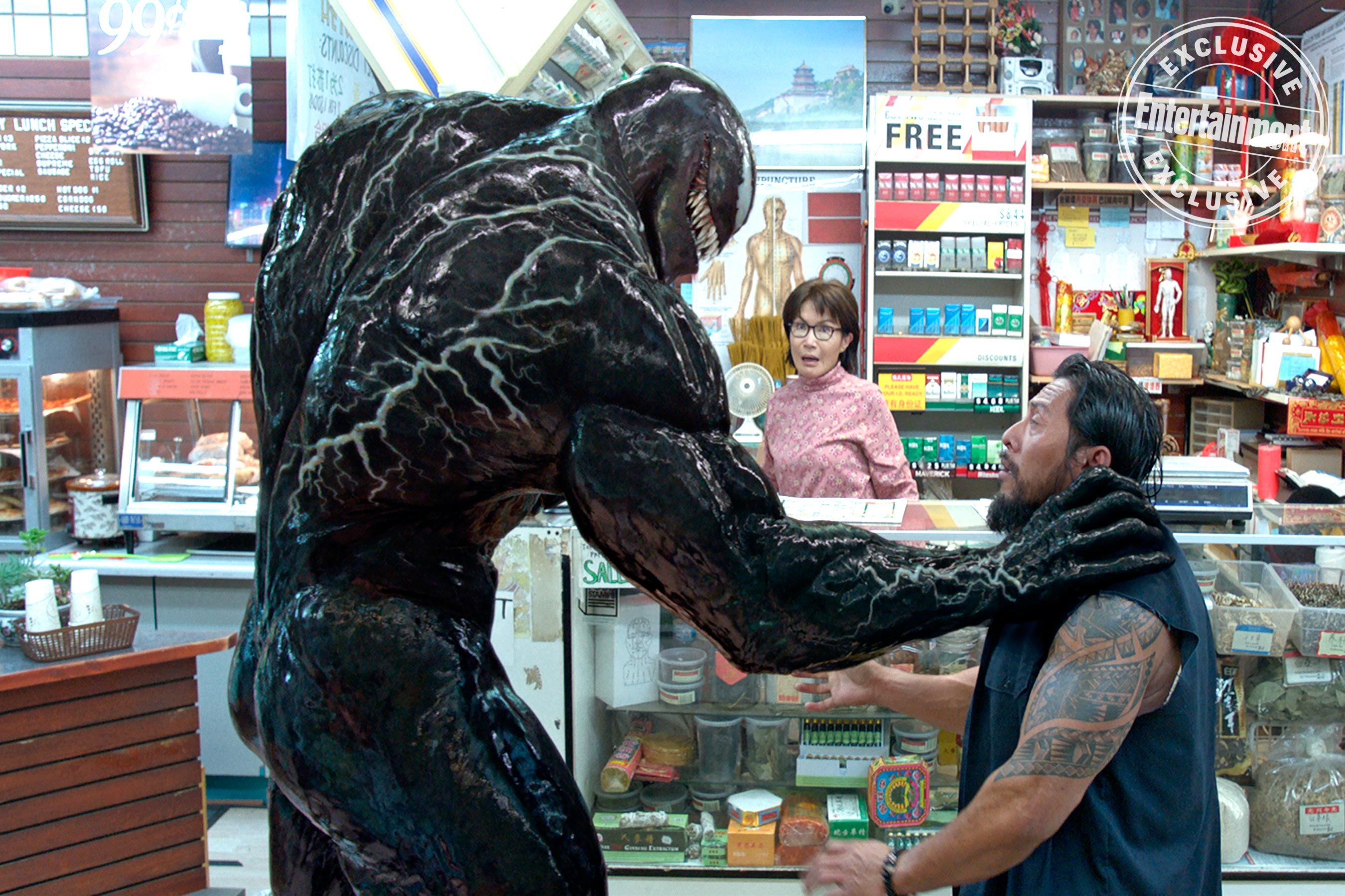 New Venom Image Plus PG13 Rating