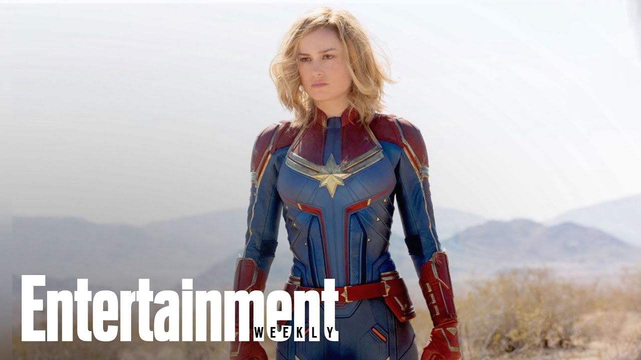 First Captain Marvel Images Revealed