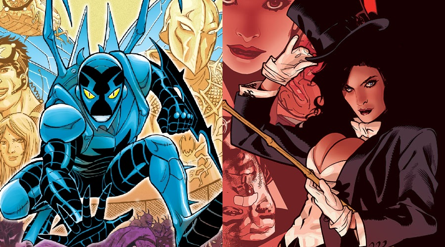 Zatanna and Blue Beetle Movies Planned For DC
