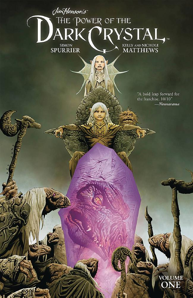 JIM HENSON POWER OF DARK CRYSTAL VOL. 01 (TRADE PAPERBACK)