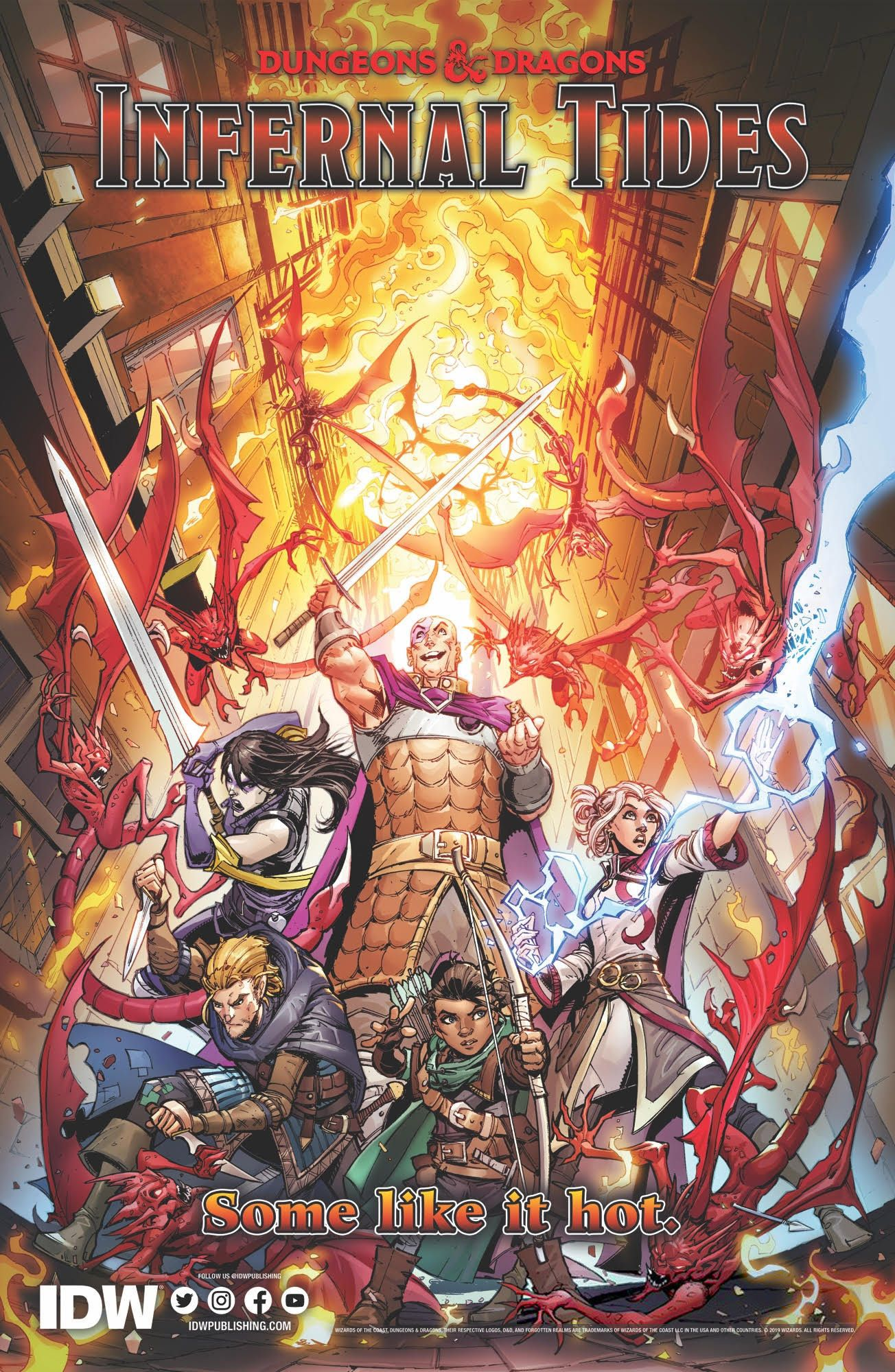 DUNGEONS & DRAGONS INFERNAL TIDES #1 (OF 5) CVR A DUNBAR